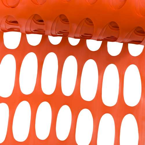 grillage delimitation orange 1x50m werkapro b 11113.500