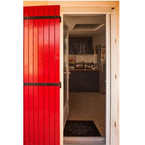 moustiquaire cadre aluminum porte 1x2 15m werkapro c 10757.500