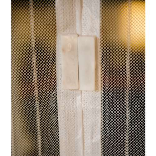 moustiquaire magnetique blanche 100x215cm werkapro c 10768.500