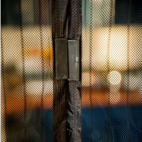 moustiquaire magnetique noir 100x215cm werkapro e 10769.500