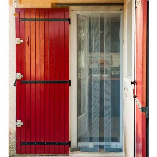 moustiquaire rideau porte 1x2 2m werkapro b 10767.500