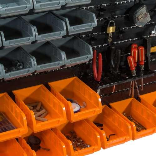 panneaux muraux 28 bacs 13 supports outils c 10842.500
