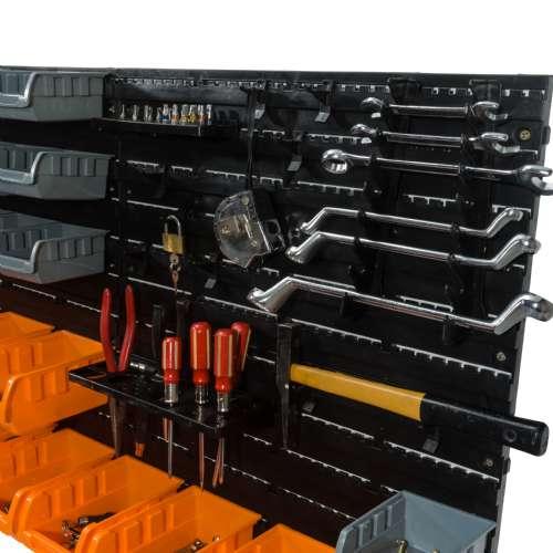 panneaux muraux 28 bacs 13 supports outils l 10842.500